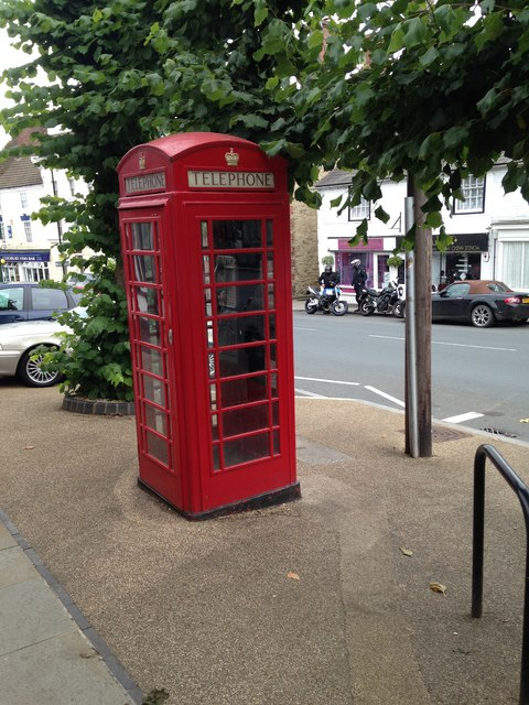 Classic Red Phone box