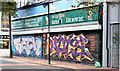 J3374 : Graffiti, Lower Garfield Street, Belfast (August 2014) by Albert Bridge