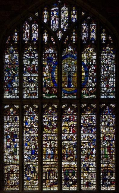 Magnificat Window, Great Malvern Priory