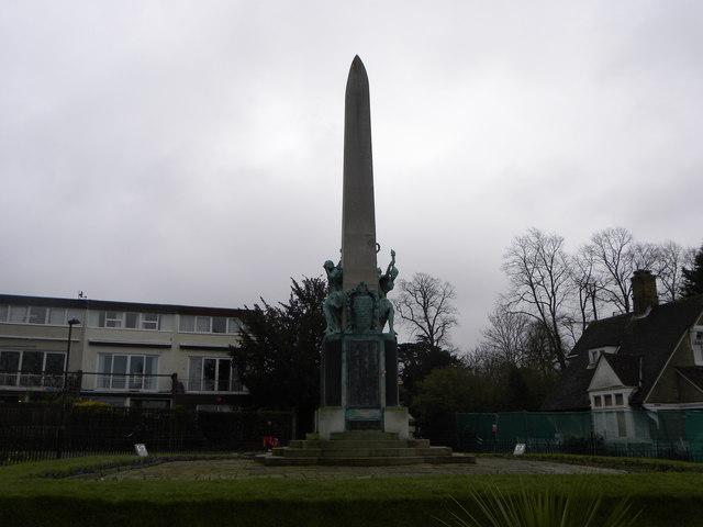 The Bromley War Memorial