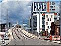 SK5739 : Tram route near Nottingham railway station by David Hallam-Jones
