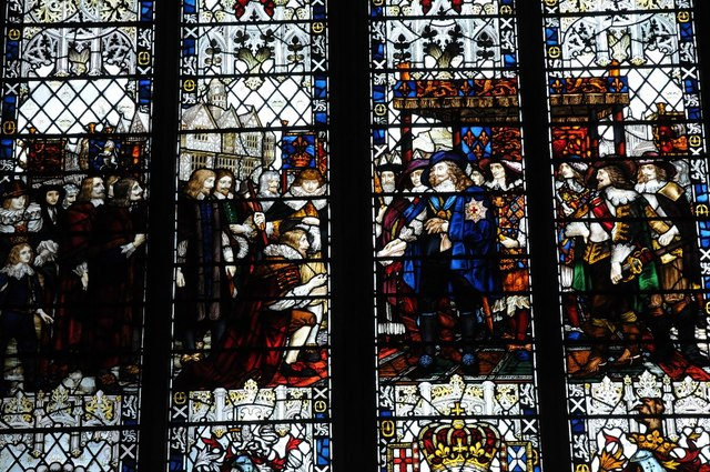 Window in Hereford Cathedral