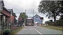 SJ5848 : Lift bridge by William Starkey