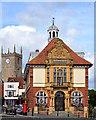 SU1869 : Town Hall, Marlborough, Wiltshire by Edmund Shaw