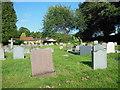 ST4552 : Churchyard, St. Andrew's Church by Virginia Knight