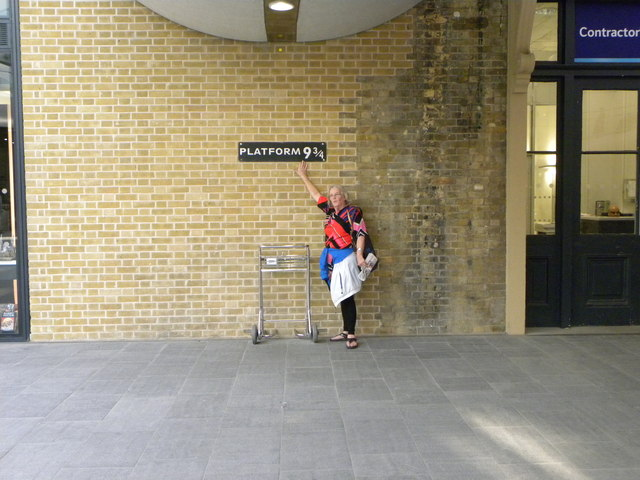 Platform Nine and Three-Quarters at King's Cross