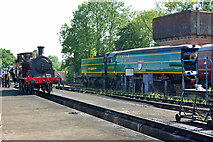 TQ4023 : Locomotives at Sheffield Park by Robin Webster