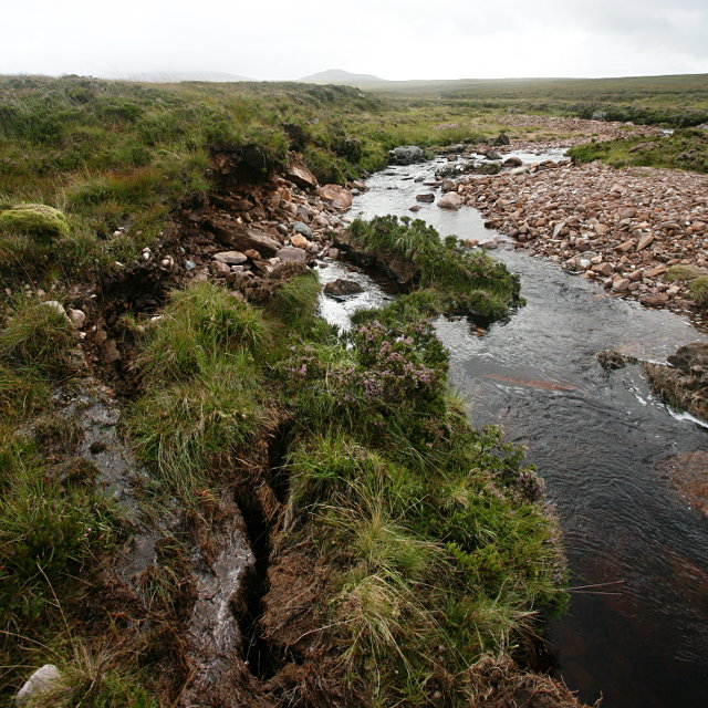 Stream-bank erosion