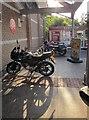 SX8966 : Motorbikes, The Willows by Derek Harper