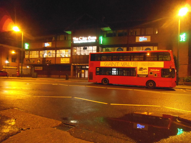 Bus by the Clay Oven, Alperton