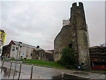 SS6593 : Swansea Castle by Clint Mann