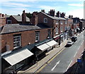 SJ4066 : Shops awnings in Northgate Street, Chester by Jaggery
