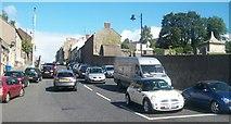 J4844 : Traffic in Irish Street, Downpatrick by Eric Jones