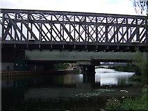 TL1998 : Railway bridge over the River Nene by JThomas