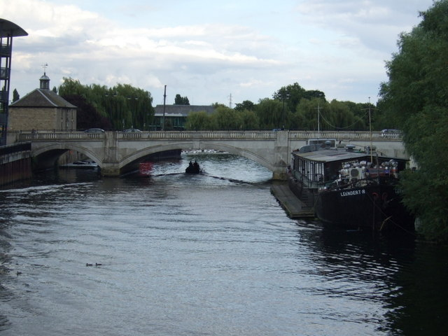 London Road bridge over the River Nene