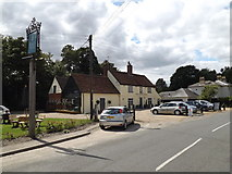 TM0734 : The Kings Head Public House by Adrian Cable