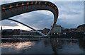 NZ2563 : Millennium Bridge Open by John Lee Cockton