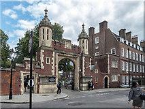 TQ3081 : Newmans Row, Lincoln's Inn Fields, London WC1 by Christine Matthews
