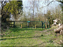 TQ2760 : Footpath exit to Carshalton Road by Robin Webster