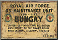 TM3187 : RAF Bungay (USAAF Station 125) by Evelyn Simak