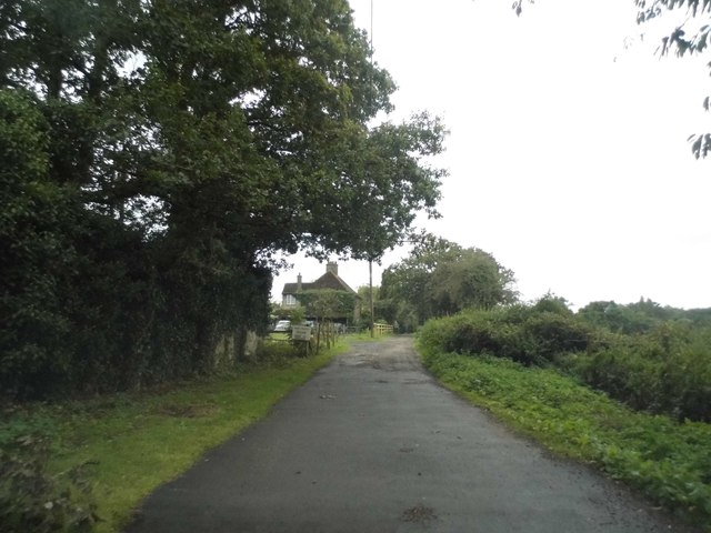 Halings Lane becomes a private road