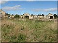 NT3269 : Longthorn farm buildings by M J Richardson