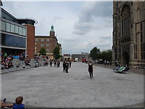 TG2208 : Norwich music 1 August 2014 by Hamish Griffin