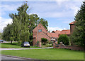 SK7473 : Farm buildings at Pond Farm by Alan Murray-Rust