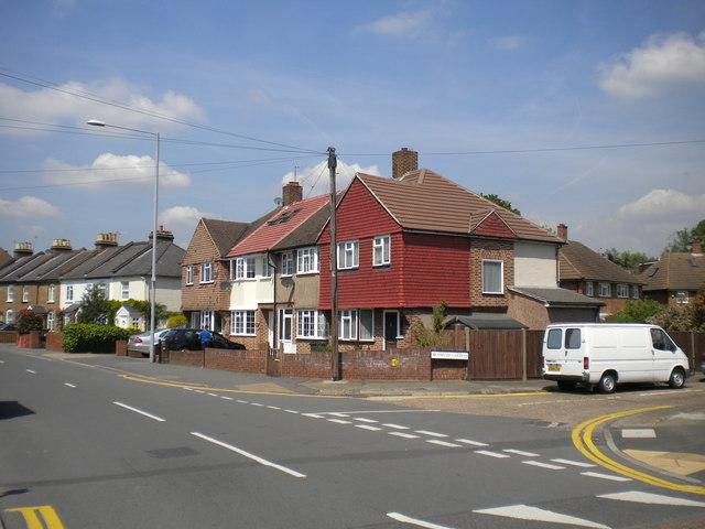 Houses on Clayton Road, Hook