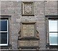 NT6520 : Carnegie Library plaque, Jedburgh by Jim Barton