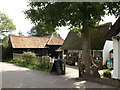 TM0733 : Tea Room near Bridge Cottage by Adrian Cable