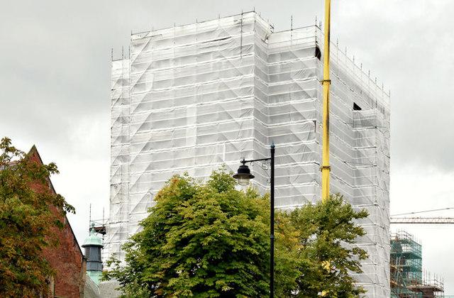 Former library, Queen's University, Belfast - August 2014(2)