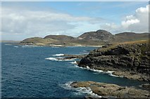 NM4167 : View from Ardnamurchan Point by Ann Causer