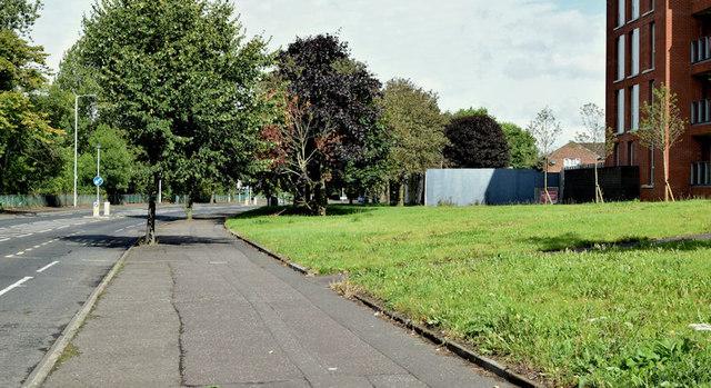 """The Embankment"" site, Belfast (August 2014)"
