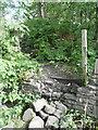 SE0026 : Strange inscription on a post off Carr Lane by Humphrey Bolton