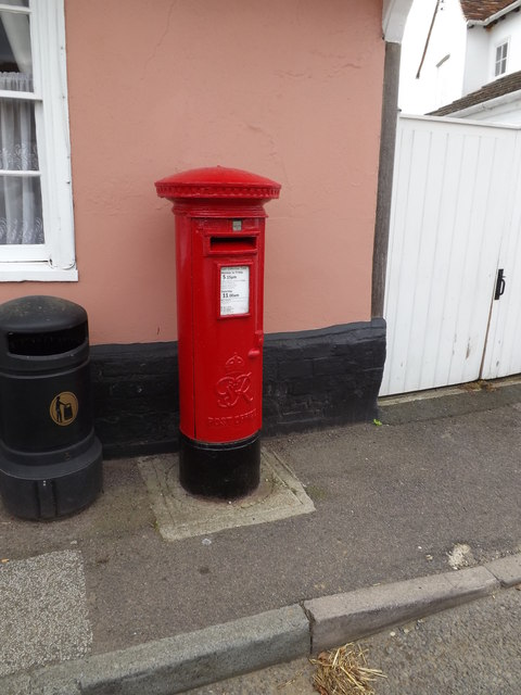 Stoke By Nayland Post Office George VI Postbox