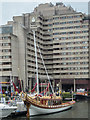 "TQ3380 : The ""Gloriana"", St Katharine Docks, London E1 by Christine Matthews"