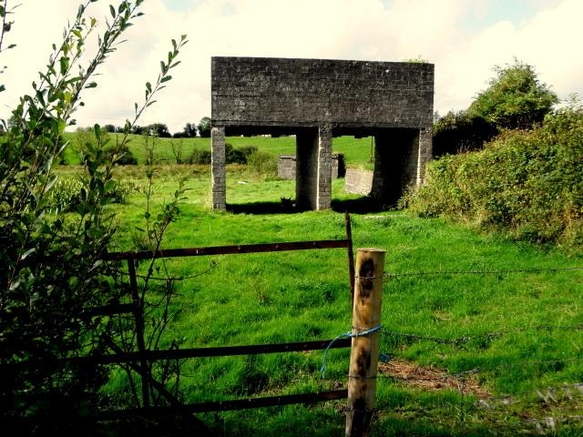 Elevated storage tanks, Tullybyran