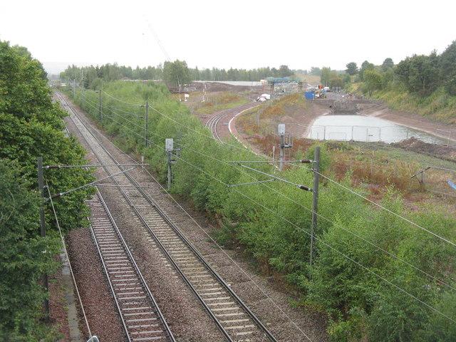 The Borders Railway at Whitehill