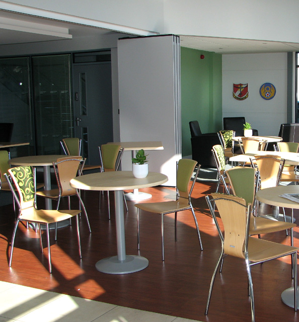 The B-24 Coffee Lounge (interior)