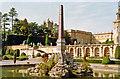 SP4416 : Blenheim Palace, formal gardens 1989 by Ben Brooksbank