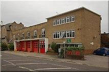 TQ2160 : Epsom Fire Station by Jim Osley
