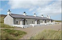 SH3862 : Pilots' Cottages, Llanddwyn Island / Ynys Llanddwyn by Andrew Hackney
