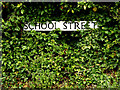 TL9836 : School Street sign by Adrian Cable