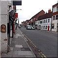 SU1430 : Artwork on a Castle Street wall, Salisbury by Jaggery