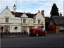 SK4003 : The Old Black Horse Inn, Market Bosworth by Jaggery