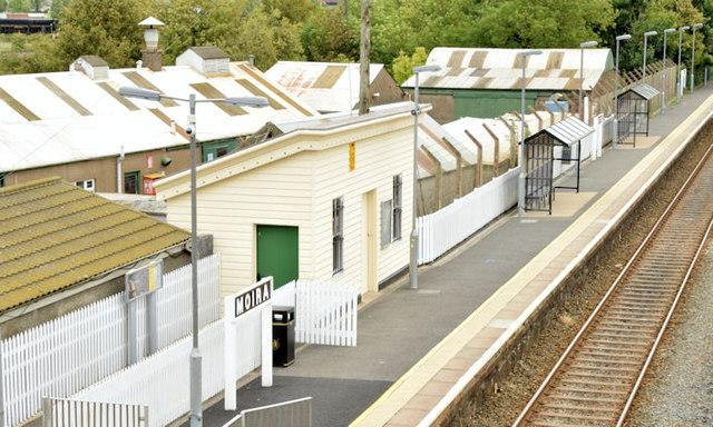 Moira station (August 2014)