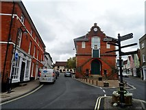 TM2649 : Theatre Street and the Old Court House, Woodbridge by Bikeboy