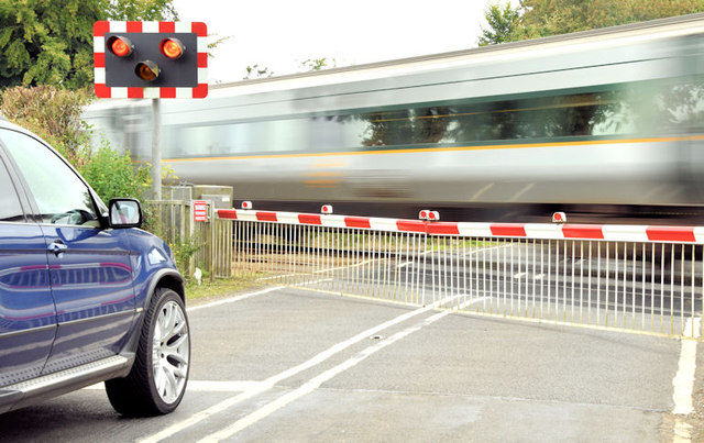 Trummery level crossing, Moira - August 2014(2)