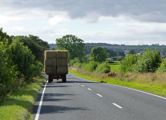 Agricultural hazard on A697